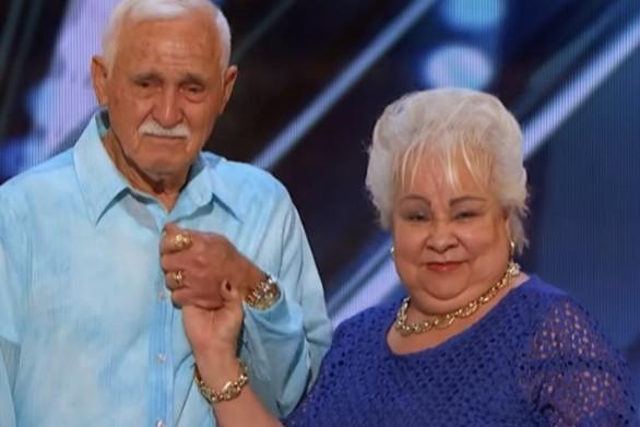 """Τα """"σπάει"""" χορός ηλικιωμένου ζευγαριού στο """"America's Got Talent"""" (video)"""