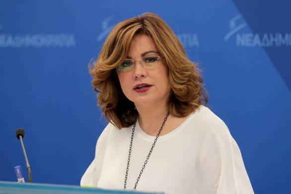 """Μαρία Σπυράκη: """"Ο Τσίπρας και η κυβέρνησή του έχουν παράδοση στα ψέματα"""""""