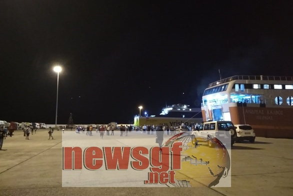 Κυλλήνη: Τηλεφώνημα για βόμβα σε πλοίο
