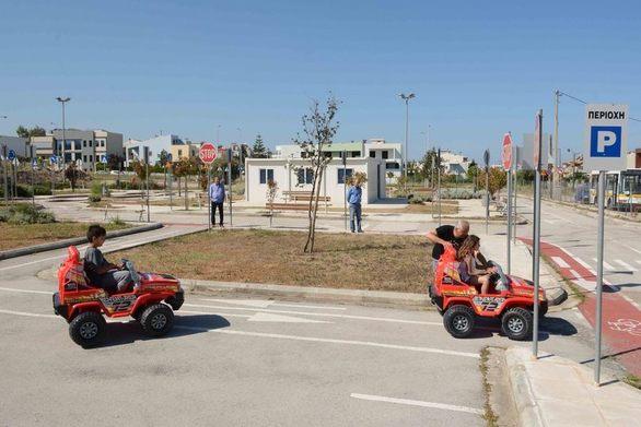 Πάτρα: Το Πάρκο Κυκλοφοριακής Αγωγής του Δήμου μπαίνει σε λειτουργία