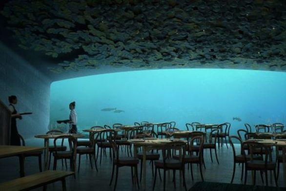 To μεγαλύτερο υποβρύχιο εστιατόριο του κόσμου ετοιμάζεται να ανοίξει τις πόρτες του