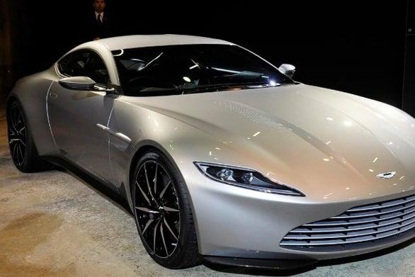 Η Aston Martin που οδήγησε ο 007 στους δρόμους του Λονδίνου