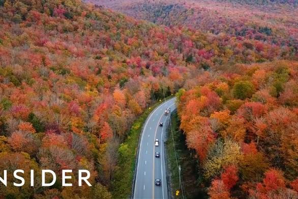 Tο φθινόπωρο σε επτά ξεχωριστά μέρη του κόσμου (video)