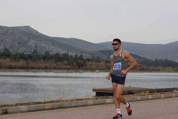 """""""Σίφουνας"""" ο Κωνσταντίνος Ντεντόπουλος στα 10.000 μέτρα του Run Greece Πάτρας"""