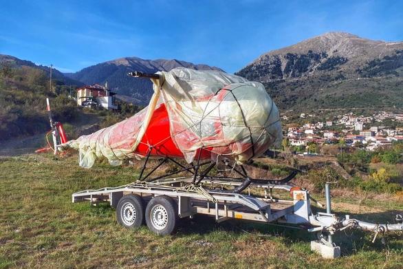 Κλεμμένο ελικόπτερο από το Μεσολόγγι, βρέθηκε στο Καρπενήσι