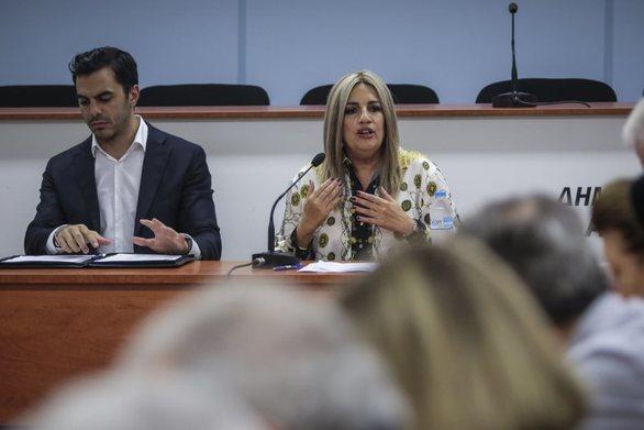 Φ. Γεννηματά: Η εικόνα της ΕΡΤ είναι απαράδεκτη με ευθύνη της κυβέρνησης