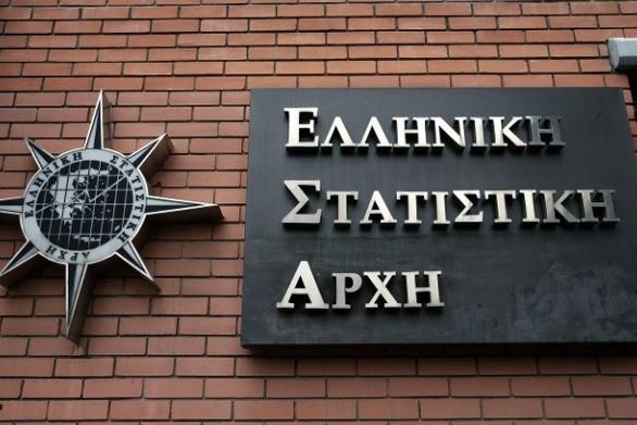 ΕΛΣΤΑΤ: Ανάπτυξη 1,5% καταγράφηκε στην ελληνική οικονομία πέρυσι