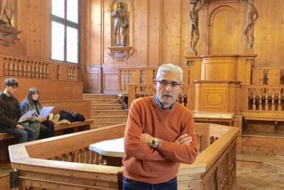 Ο Άγγελος Τσιγκρής στο 7ο Γυμνάσιο της Πάτρας για τη σχολική βία