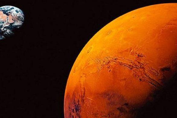 Γεμάτη λίμνες η λεκάνη «Ελλάς» του πλανήτη Άρη