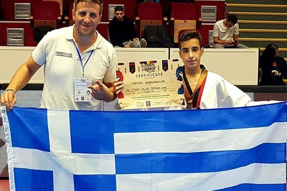 Ένα ακόμη μετάλλιο για το Fight Club Patras στο 9th Dracula Open G1!