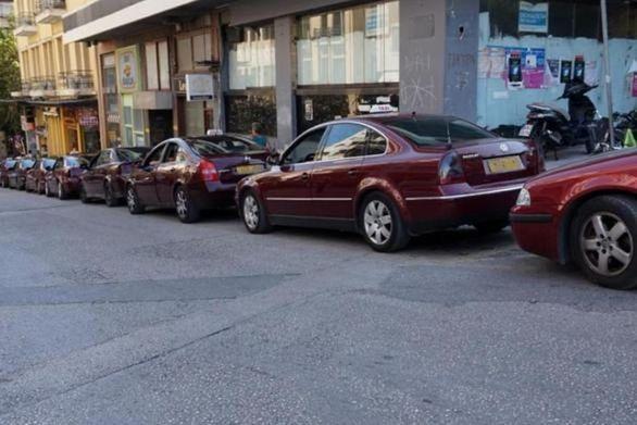 Πάτρα: Στις κινητοποιήσεις της 8ης Νοεμβρίου συμμετέχουν τα ταξί