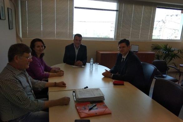 Πάτρα: Συνάντηση Μπαλαμπάνη - Καλαματιανού για θέματα ενέργειας και περιβάλλοντος