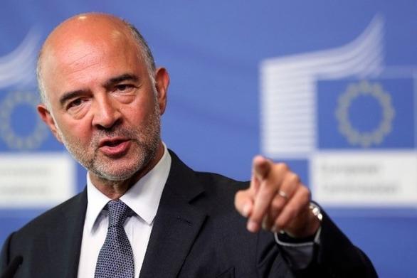 """Μοσκοβισί: """"Συνεχίζεται η συζήτηση για το δημοσιονομικό πλεόνασμα της Ελλάδας"""""""