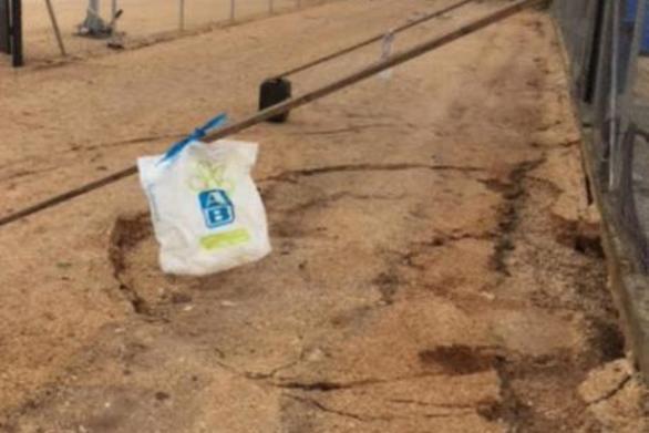 Πάτρα: Γεμάτος λακκούβες ο δρόμος που οδηγεί από ΒΙΟ.ΠΑ προς Δεμένικα (pics)