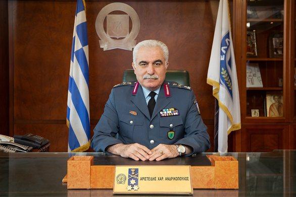 Έρχεται στην Πάτρα ο Αρχηγός της Αστυνομίας Αριστείδης Ανδρικόπουλος