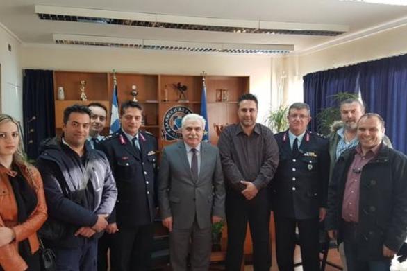 Πάτρα: Συνάντηση του Προεδρείου της Ένωσης Αξιωματικών με τον Αντιστράτηγο Αριστείδη Ανδρικόπουλο