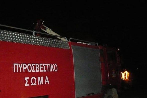 Πάτρα - Φωτιά εκδηλώθηκε στην περιοχή Δρεστενά