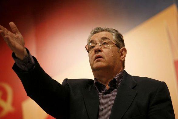 """Δημήτρης Κουτσούμπας: """"Η κυβέρνηση έχει μετατρέψει την Ελλάδα σε απέραντη αμερικανική βάση"""""""