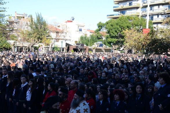 Στιγμές από την εορτή του Αγίου Ανδρέα στην Πάτρα - Πλήθος κόσμου (pics)