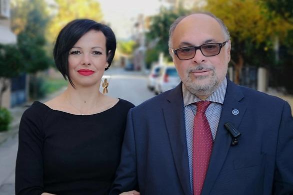Πάτρα - Η Ρούλα Ζαφειροπούλου υποψήφια με το Νίκο Τζανάκο