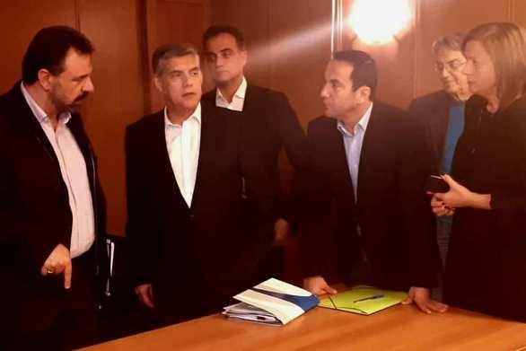 Δυτική Ελλάδα: Ο Αντιπεριφερειάρχης Κ. Μητρόπουλος σε συνάντησητον υπουργό Αγροτικής Ανάπτυξης