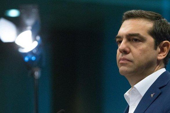 """Αλέξης Τσίπρας: """"Ο ελληνικός λαός έδειξε την αλληλεγγύη του στους μετανάστες"""""""