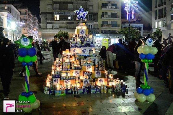 Ένα ξεχωριστό «Χριστουγεννιάτικο Δέντρο από Γάλα» θα στολιστεί στην Πάτρα!