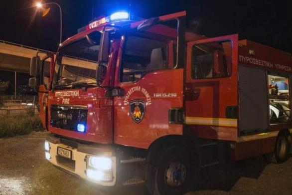 Κρήτη: Φωτιά σε λεβητοστάσιο σπιτιού