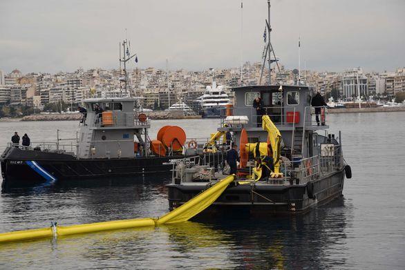 Άσκηση αντιμετώπισης ρύπανσης της θάλασσας (pics)