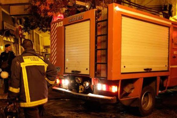 Εμπρησμός σε μηχανάκι στην Θεσσαλονίκη