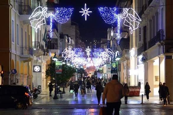 Πάτρα: Χριστουγεννιάτικες εκδηλώσεις από τον Εμπορικό Σύλλογο