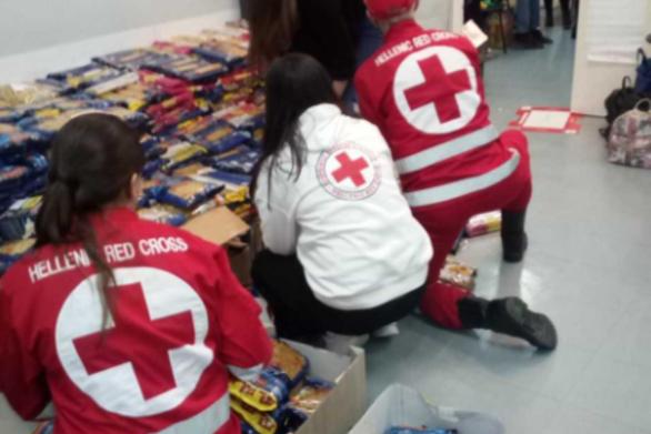 Πάτρα: Προσφορά αγάπης από τον Ελληνικό Ερυθρό Σταυρό