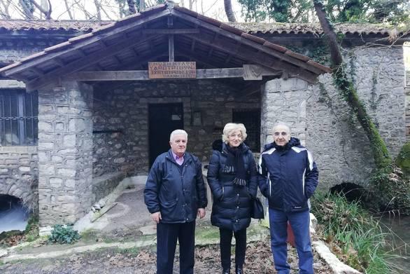 Επίσκεψη της Σίας Αναγνωστοπούλου στο Πλανητέρο Καλαβρύτων!