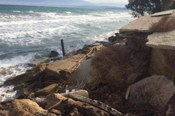 """Ο """"Τriton"""" μπορεί να σώσει τις ακτές γύρω από την Πάτρα από το φαινόμενο της διάβρωσης"""