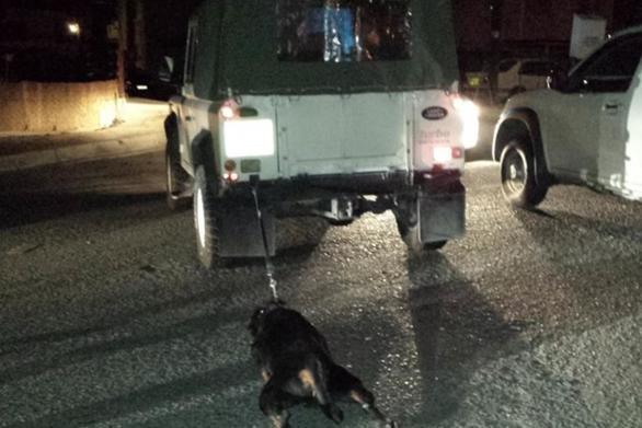 Δυτική Ελλάδα - Έδεσε ένα σκύλο στο αυτοκίνητό του και τον έσερνε