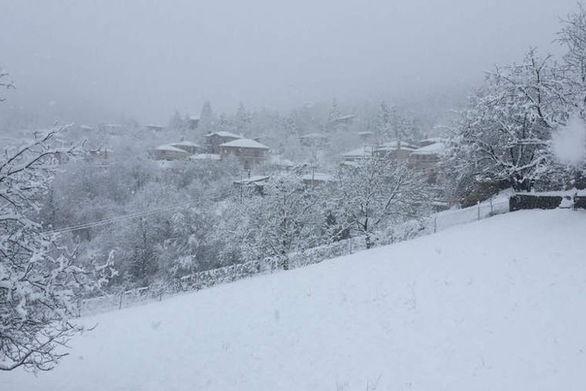 Τολμηρή Κοζανίτισσα ποζάρει με μαγιό μέσα στα χιόνια (φωτο)