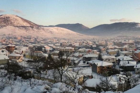 Μείον 21 βαθμούς έδειξε ο υδράργυρος στο Νευροκόπι!