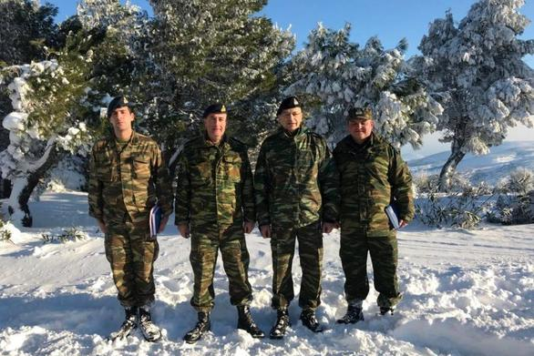 Επίσκεψη Αρχηγού ΓΕΣ σε μονάδες του Στρατού Ξηράς στην Αττική (φωτο)