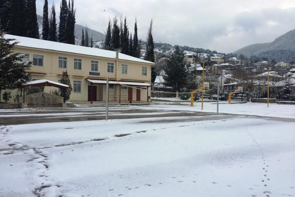 Κλειστά τα σχολεία αύριο σε περιοχές των Καλαβρύτων