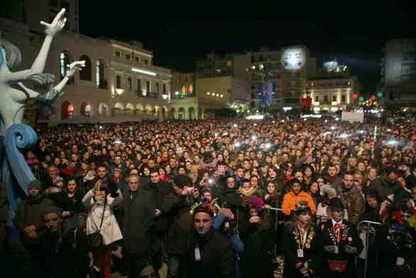 Στον ρυθμό της τελετής έναρξης του καρναβαλιού η Πάτρα - Κάλεσμα στον κόσμο (vids)