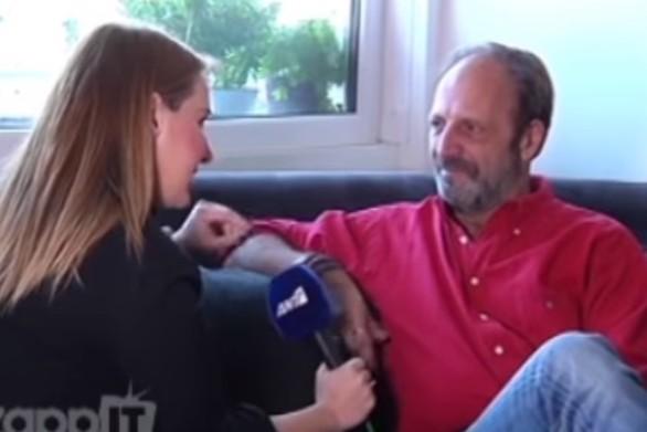"""Δημήτρης Αποστόλου: """"Είχε παγώσει η ψυχή μου"""" (video)"""