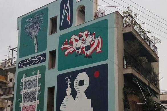 Ο Πατρινός street artist Bilos με το ιδιαίτερο στυλ (video)