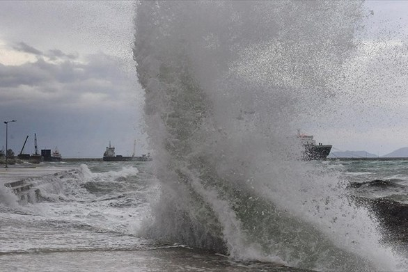 ΕΜΥ - Έκτακτο δελτίο για θυελλώδεις ανέμους
