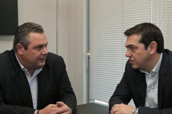 Στις 10:30 Τσίπρας - Καμμένος διαλύουν τη συγκυβέρνηση