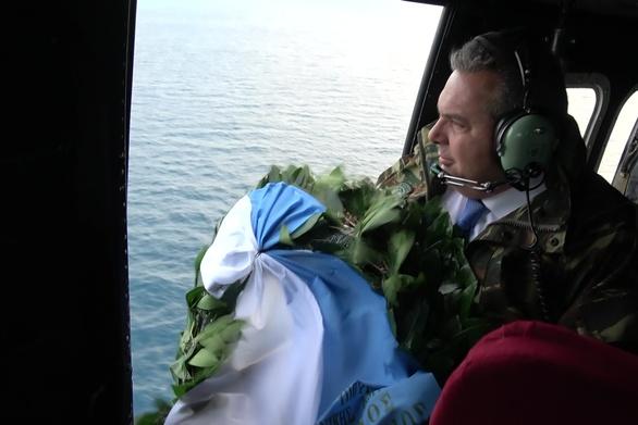 Ο Πάνος Καμμένος μετά την παραίτηση πήγε στα Ίμια (φωτο)