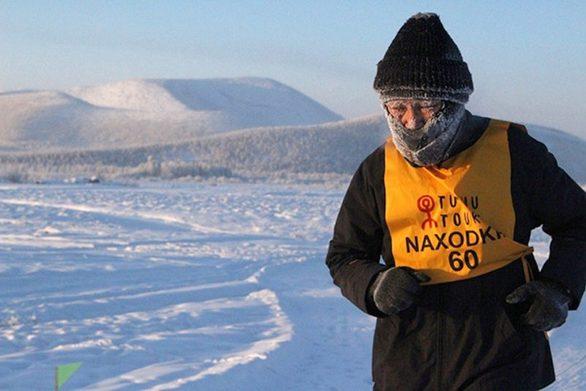 Δρομείς έτρεξαν στον πιο κρύο αγώνα του κόσμου (video)