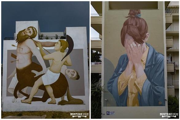 Στην Πάτρα δύο από τις καλύτερες τοιχογραφίες του κόσμου για το 2018!