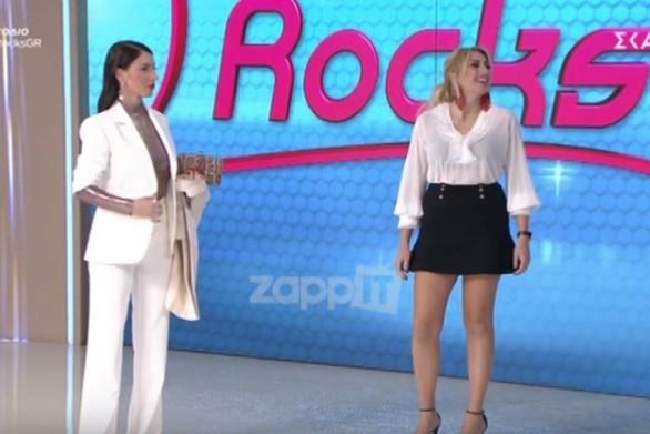 """Πρωτοφανές """"επεισόδιο"""" στο My Style Rocks (video)"""