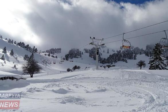 Ανοίγει το Χιονοδρομικό Κέντρο Καλαβρύτων