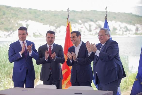 """Κοινοτικόν: """"Δημοψήφισμα τώρα για τη Συμφωνία των Πρεσπών"""""""